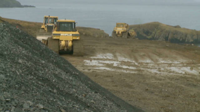 Alaska's $77,000,000 'airport to nowhere'