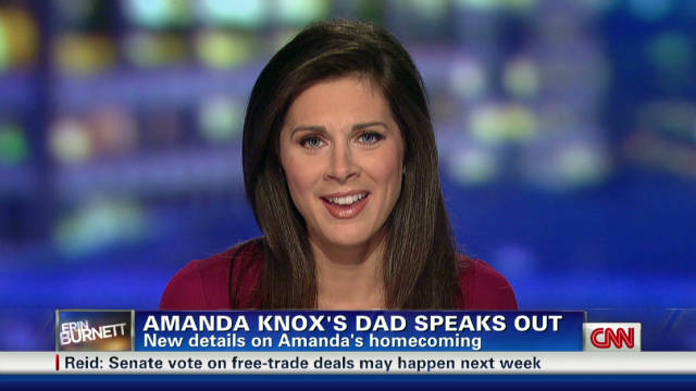 Knox's father speaks out