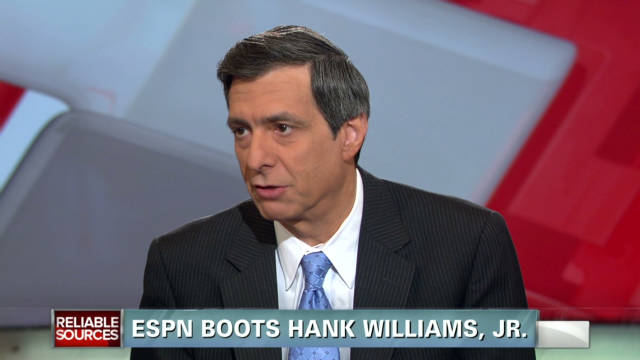 ESPN boots Hank Williams Jr.