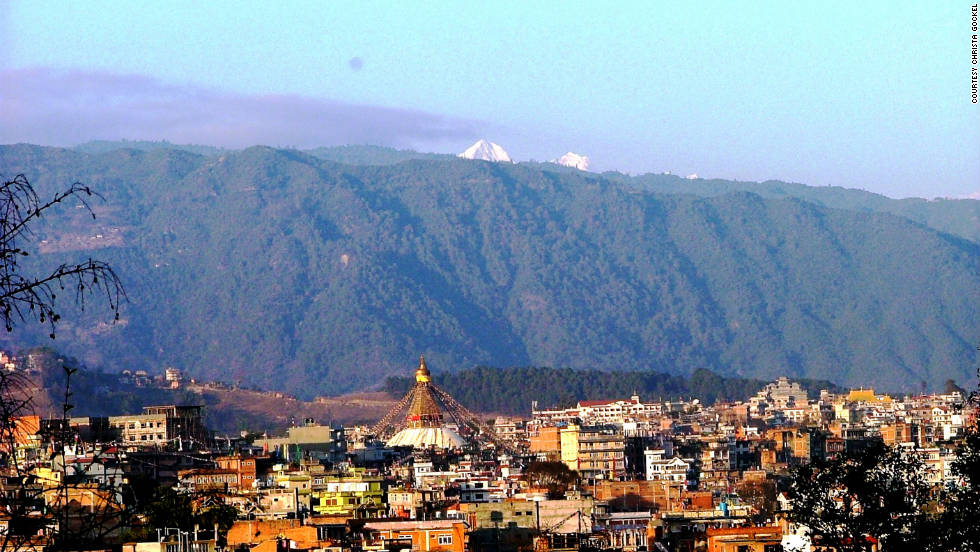 Kathmandu is the capital of Nepal, and the largest city as well. It's a cultural and spiritual melting pot with many Hindu and Buddhist people, but plenty of other religions and cultures. While in Kathmandu, Gockel visited nearby places including the cities of Bhaktapur and Patan. She also went to the town of Pokhara, somewhat further away, and made the popular trip to Chitwan National Park near Bharatpur. The park is a few hours from Kathmandu.