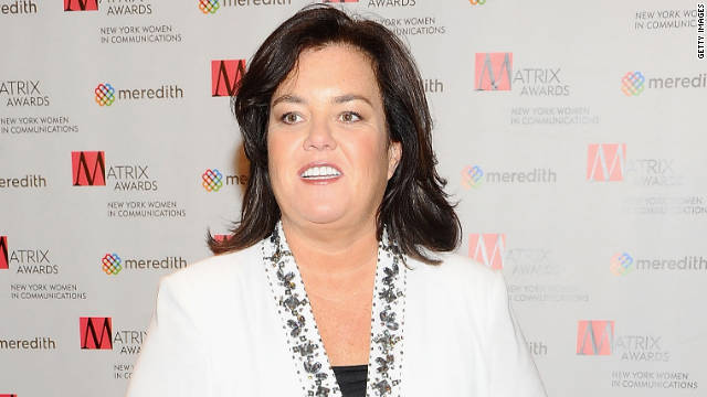 Rosie O'Donnell suffers a heart attack