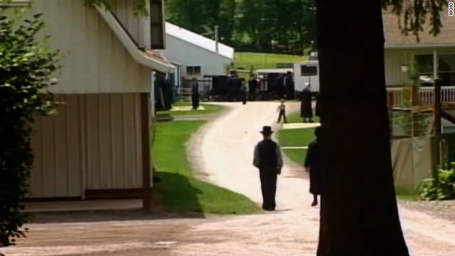 Four alleged attacks have taken place in an Ohio Amish community since September 6, the local sheriff says.