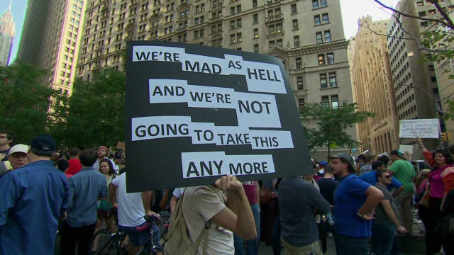 24 days of Occupy Wall Street