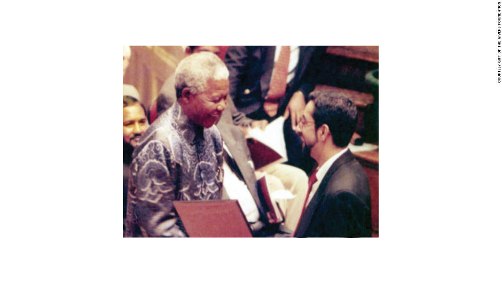 Sooliman has been presented with numerous accolades over for the years, including the PMB civic commendation award in 1997 from Nelson Mandela.