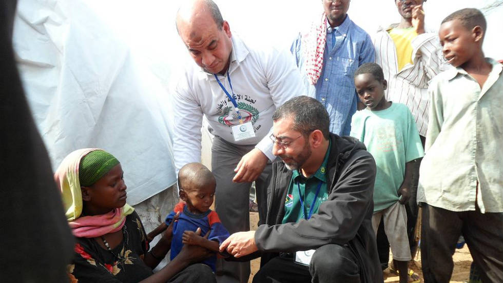 Sooliman and his team has so far traveled to famine-stricken Somalia twice to deliver not only food but also bring medical expertise and equipment.