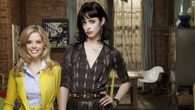 "Dreama Walker and Krysten Ritter's in ""Don't Trust The B----- in Apartment 23."""