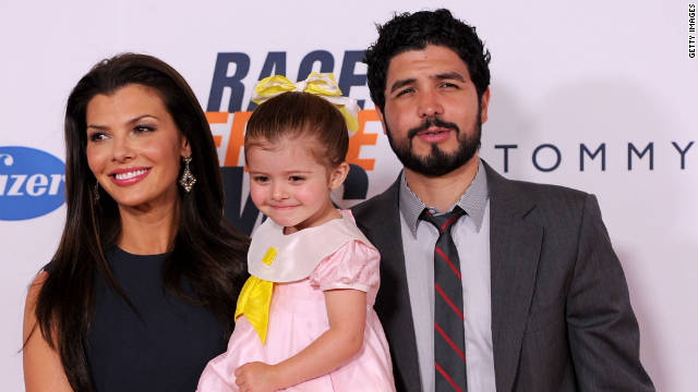 Ali Landry and Alejandro Monteverde and their daughter Estela welcomed a baby boy on Saturday.