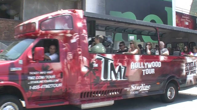 TMZ Tour: A trip through Hollywood