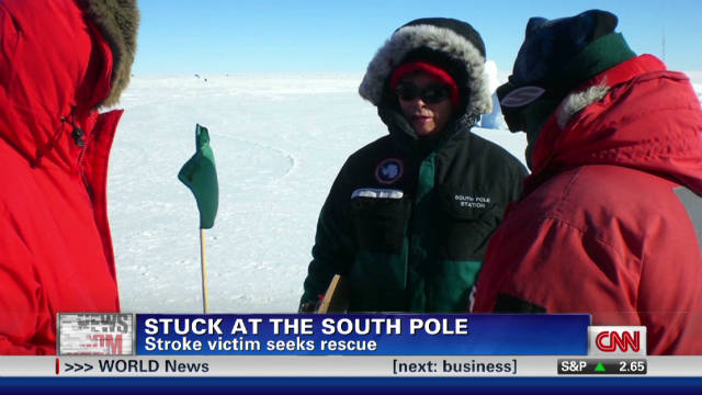2011: Stuck at the South Pole