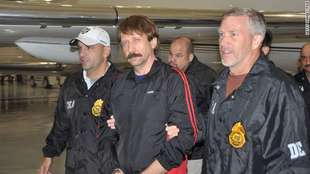 Viktor Bout guilty of conspiracy to kill