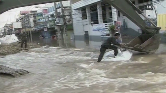 Rain, flooding wreak havoc in Thailand