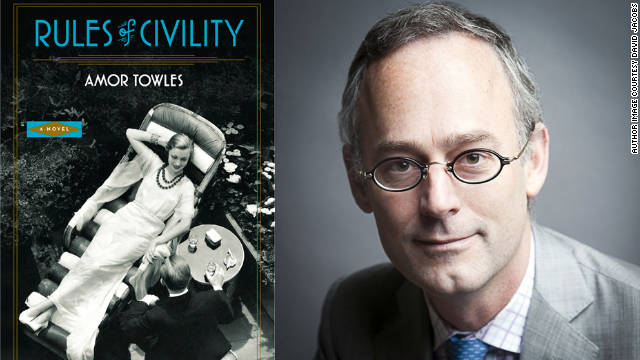 Author Amor Towles' first novel is a love letter to New York in the '30s.