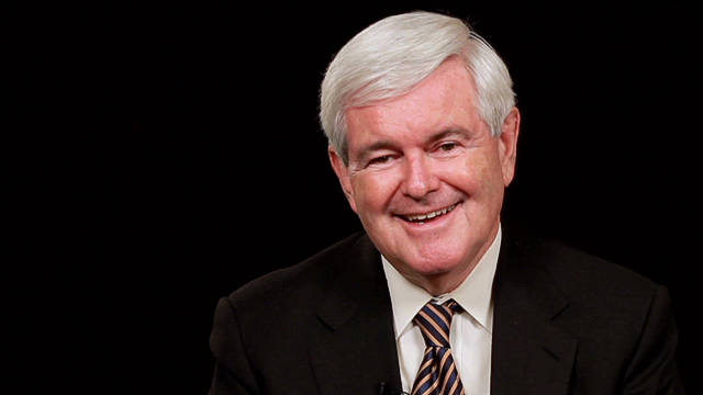 CNN Red Chair Interview: Newt Gingrich