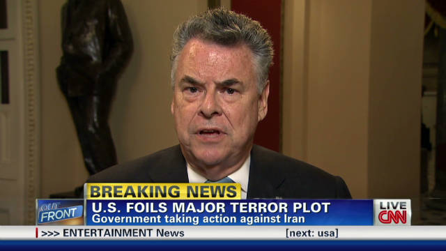 Rep. King: Terror plot 'an act of war'