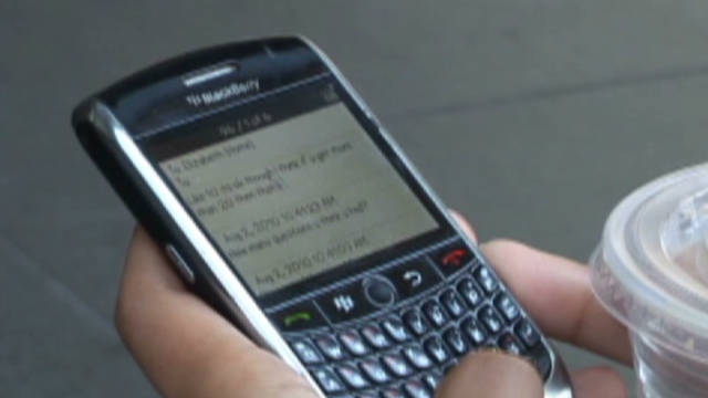 BlackBerry outage spreads