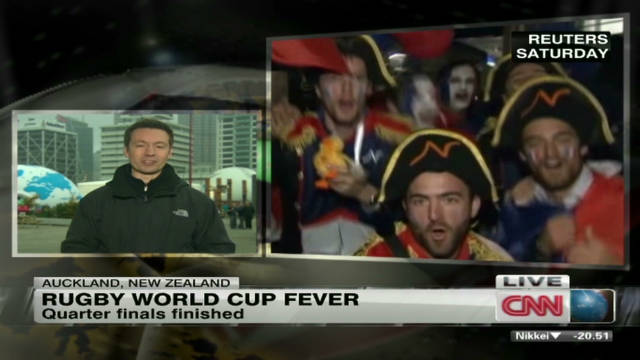 New Zealand has Rugby World Cup fever