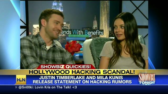 Timberlake, Kunis' stolen photos