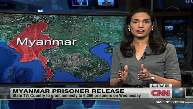 Myanmar: Granting amnesty to prisoners