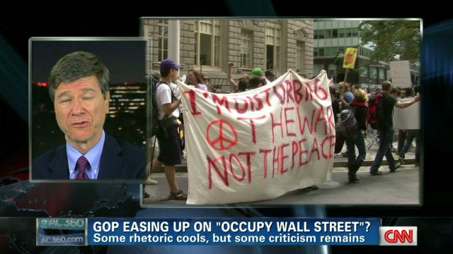 Rival views of Occupy Wall Street