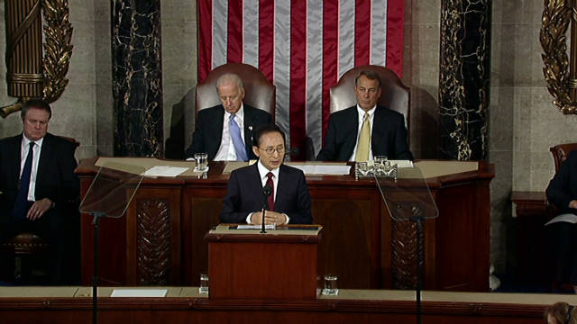 Pres. Myung-bak: 'We are interdependent'