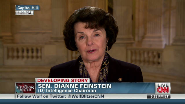 Feinstein: Iran plot was real