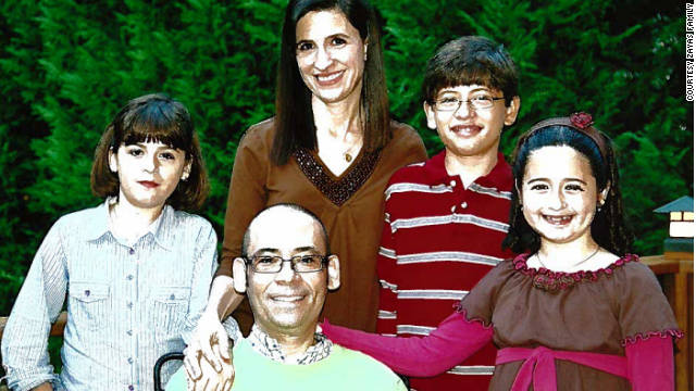 Carlos and Rita Zayas with their children, Carlos, Lizzie, far left, and Marisol.
