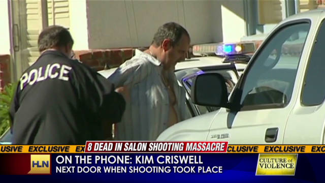Witness account of deadly shooting