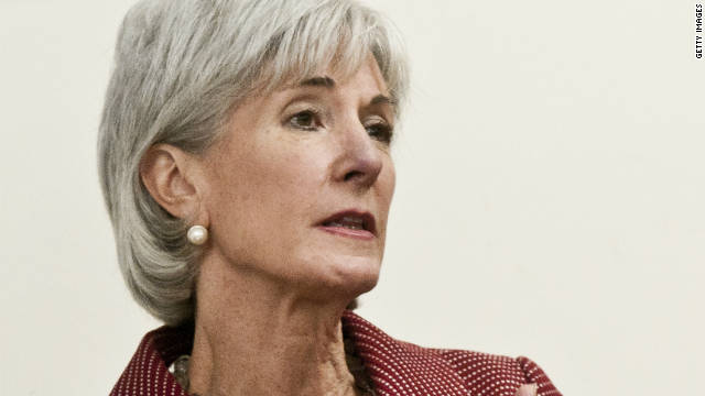 ALEXANDRIA, VA - OCTOBER 03: Kathleen Sebelius listens during a roundtable discussion during a visit to the Breast Care Center at the Inova Alexandria Hospital at Mark Center on October 3, 2011 in Alexandria, Virginia. (Photo by Kris Connor/Getty Images)