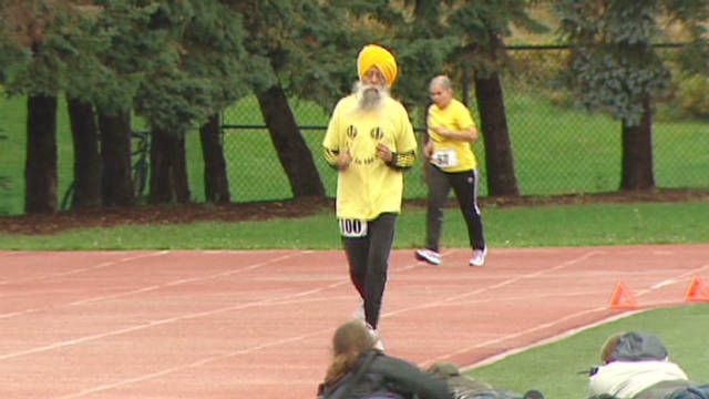 Meet a 100-year-old marathon runner