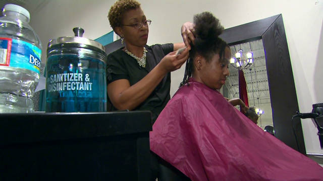 Hair salons thrive in spite of economy