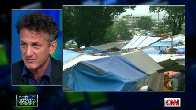 Penn: Rebuilding Haiti will help America