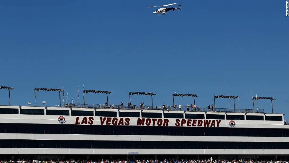 Wheldon was flown from the Las Vegas Motor Speedway to a nearby hospital in an air ambulance on Sunday.
