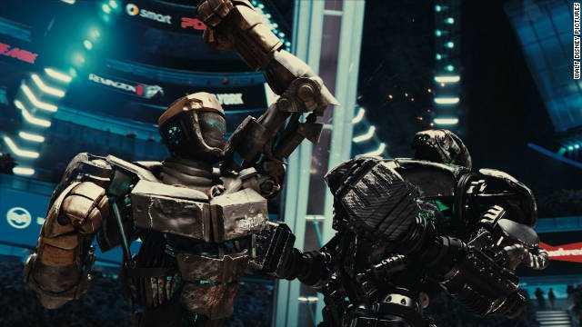 """""""Real Steel"""" punched up an estimated $16.3 million this weekend."""