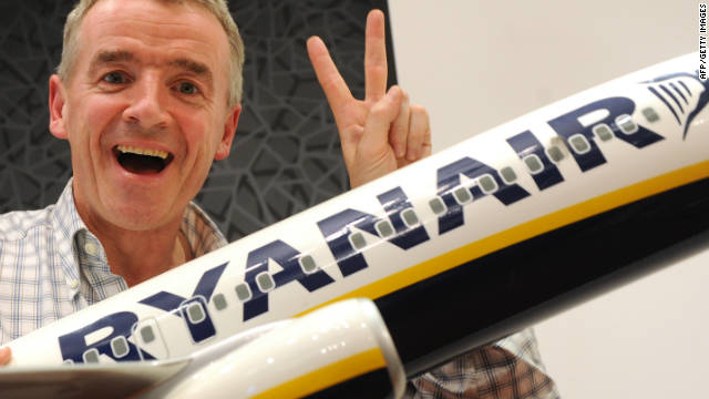 Ryanair CEO Michael O'Leary is known for his attention-getting ideas.