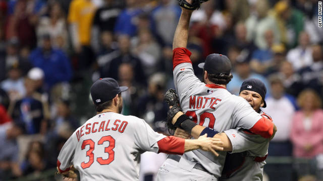 The St. Louis Cardinals defeated the Milwaukee Brewers on Sunday, and will now face the Texas Rangers in the World Series.