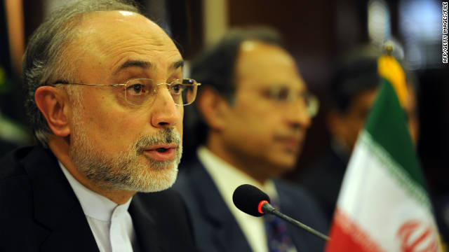 Iranian Foreign Minister Ali Akbar Salehi, left, with Pakistani finance minister Abdul Hafeez Shaikh last month.
