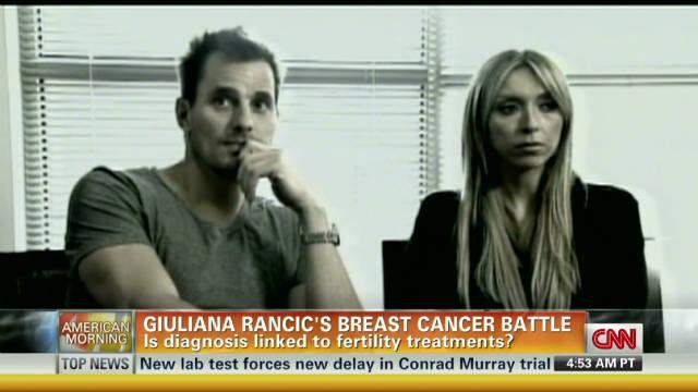 Giuliana Rancic's breast cancer battle