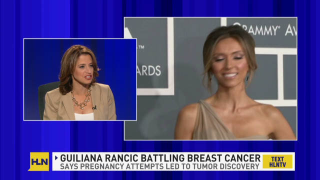 How fertility doc found Rancic's cancer