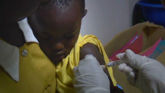 Malaria vaccine trial promising