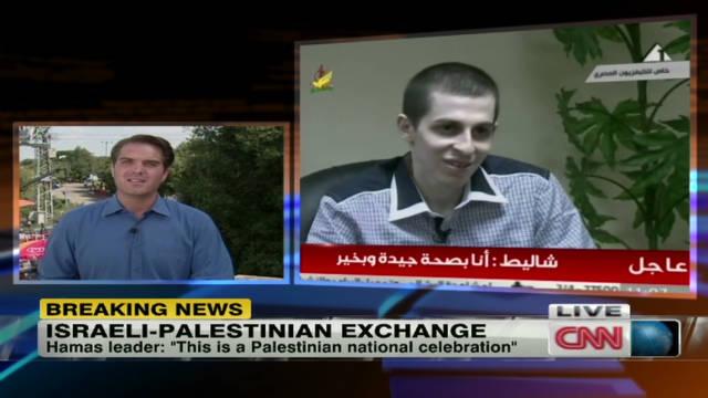Shalit back in Israel