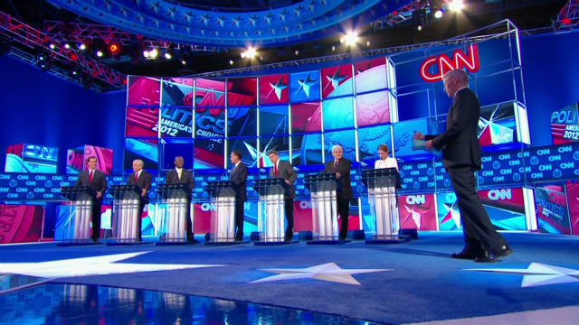 Highlights from the CNN GOP Debate in Las Vegas
