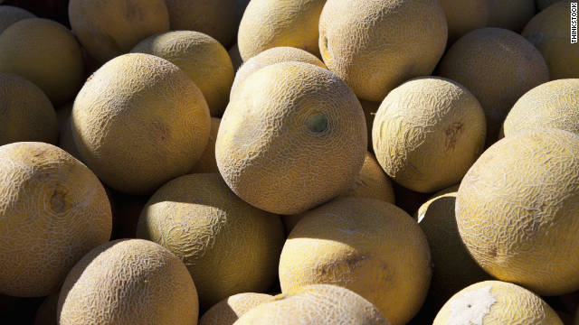 If consumers are uncertain about the source of a cantaloupe, they are urged to ask their supermarket.