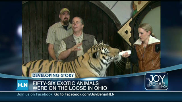 Tiger expert: Animal owner went too far