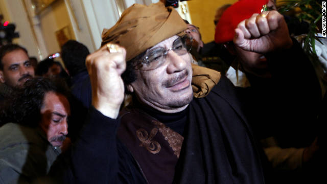 The end of the Gadhafi era