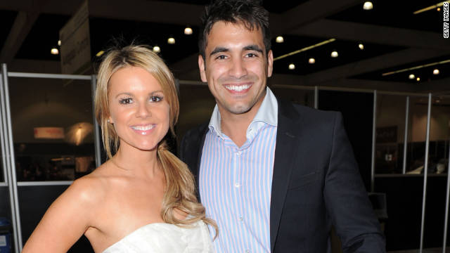 Ali Fedotowsky and Roberto Martinez attend the Reality Rocks Expo Fan Awards on April 9, 2011.