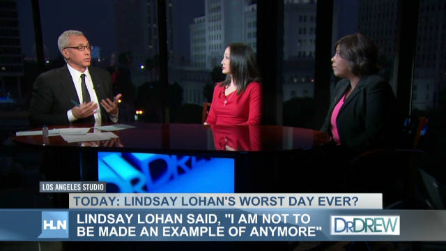 Dr. Drew: Lindsay's disease is reckless