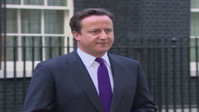 British PM:  Remember Gadhafi's victims