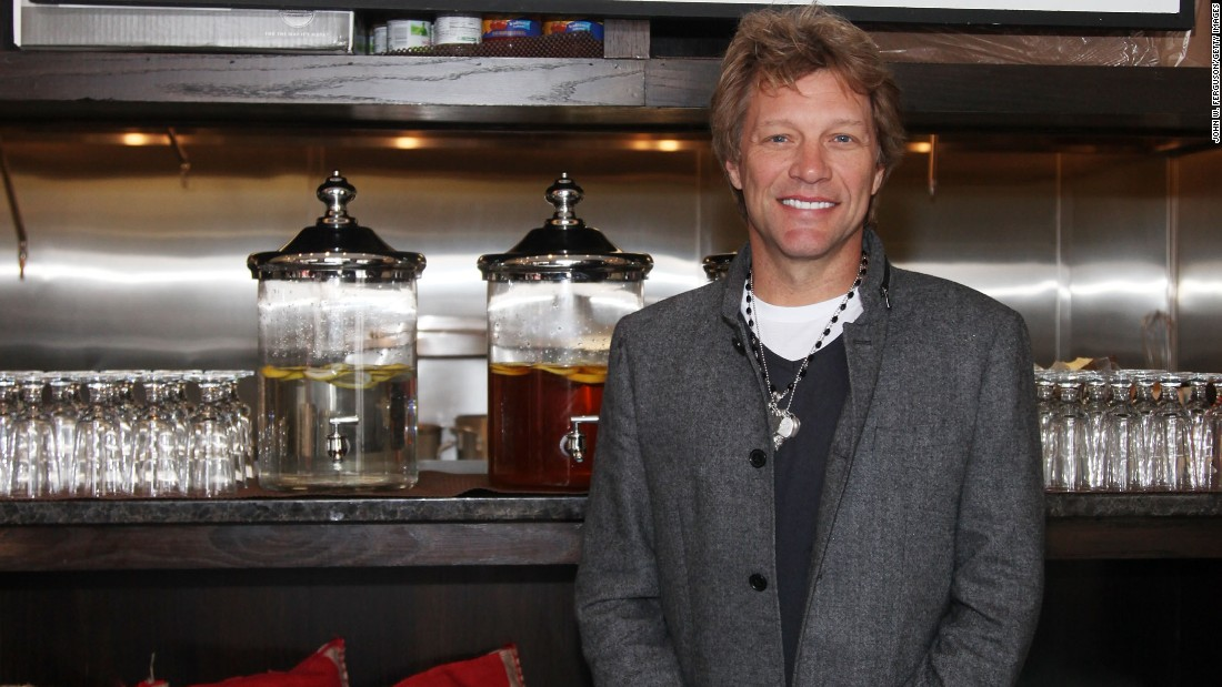 "In October 2011, rocker Jon Bon Jovi opened the Soul Kitchen restaurant in his home state of New Jersey.  The pay-as-you-go community kitchen has no prices on the menu but asks people to volunteer or donate at least $10 for their meal.  The buzz around this endeavor landed Bon Jovi on the top of Forbes Magazine's ""Most Valuable Celebrity Charity Relationships,"" which measures the amount of publicity generated by each star for their cause."