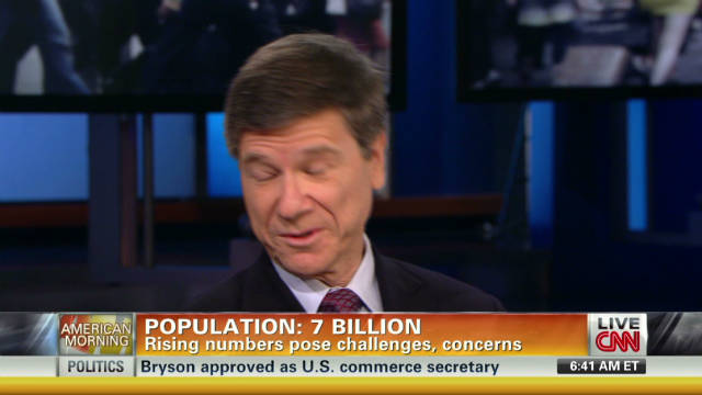 World population to reach 7 billion