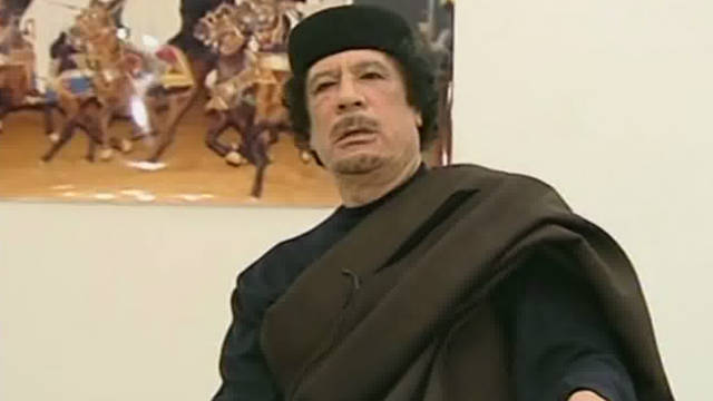 The former Libyan leader was killed shortly after his capture in October.